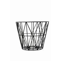 Ferm Living - Wire Basket small - svart