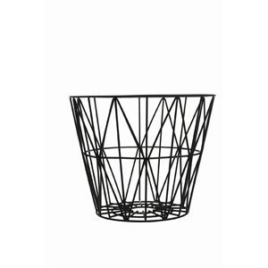 Ferm Living - Wire Basket trådkorg small - svart