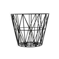 Ferm Living - sort Wire Basket str. medium