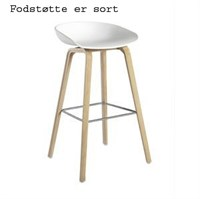 hay about a stool white aas32